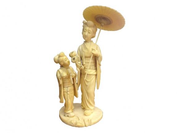 Japanese Ivory Figures