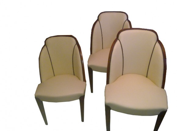 Art Deco tub chairs