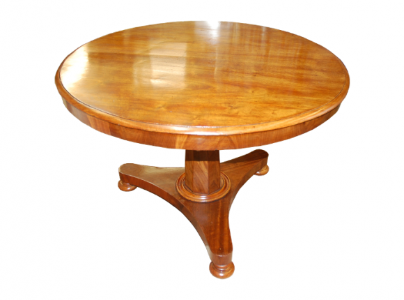 Tilt Top Mahogany Dining Table