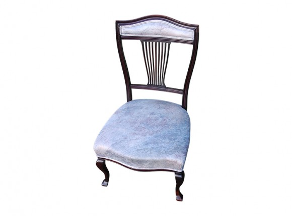Dining chair – Broken back slat and upholstery