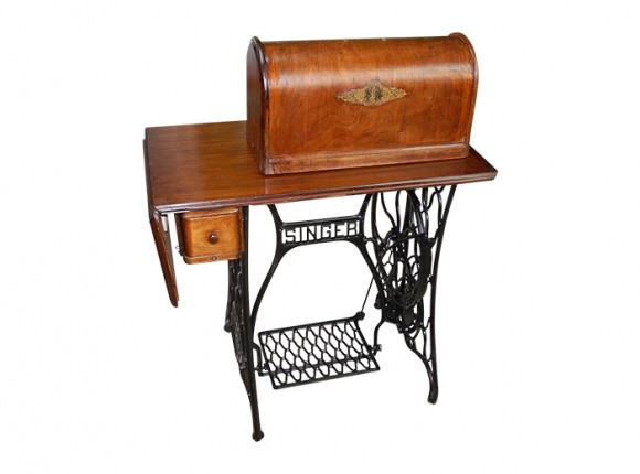 Antique Sewing Machine Table and Stand