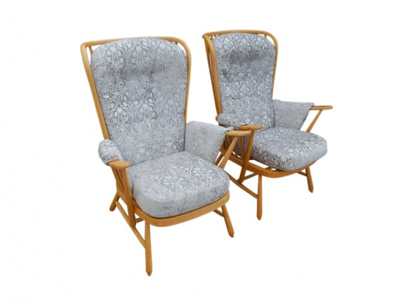 Ercol chairs – restored and upholstered