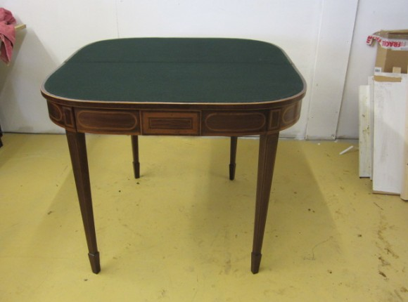 restore old card table